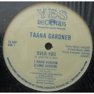 Taana Gardner - Over You - YES Records - YS 5367