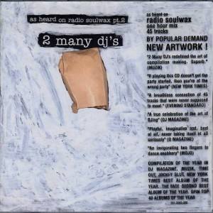 2 Many DJ's - As Heard On Radio Soulwax Pt.2 - [PIAS] Recordings - piasb 065 cd, [PIAS] Recordings - 941.0065.020