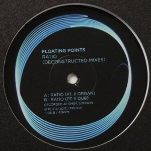 Floating Points - Ratio (Deconstructed Mixes) - Pluto - FPL03V