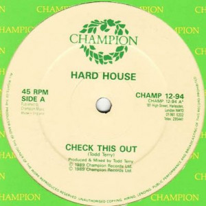 Hardhouse - Check This Out / 11:55 - Champion - CHAMP 12-94