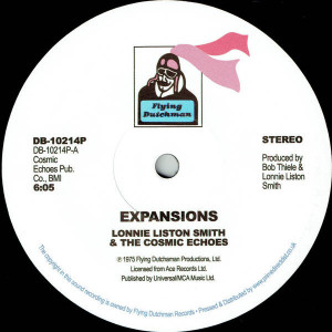 Lonnie Liston Smith And The Cosmic Echoes - Expansions - Flying Dutchman - DB-10214P