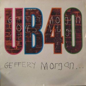 UB40 - Geffery Morgan... - DEP International - LP DEP 6