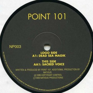Point 101 - Dead Sea Magik / Sacred Voice - Natious Productions - NP003