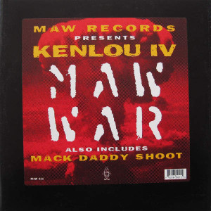 Kenlou - MAW War - MAW Records - MAW 011