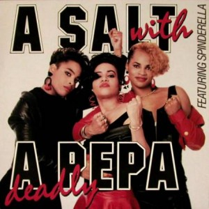 Salt 'N' Pepa - A Salt With A Deadly Pepa - Ffrr - FFRLP 3