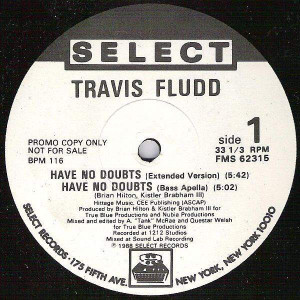 Travis Fludd - Have No Doubts - Select Records - FMS 62315