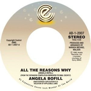 Angela Bofill - All The Reasons Why / Love & Marriage - Expansion - AB-1-2007