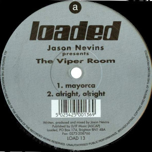 Jason Nevins - The Viper Room - Loaded Records - LOAD 13
