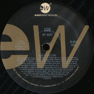 LSG - My Body - EastWest Records America - ED-6055