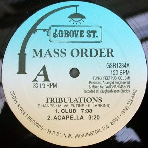 Mass Order - Tribulations - Grove St. - GSR1234