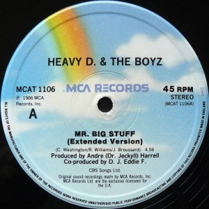 Heavy D. & The Boyz - Mr. Big Stuff - MCA Records - MCAT 1106