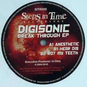 Digisonic - Break Through EP - Steps In Time Recordings - SITR005