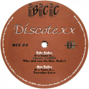 Discotexx - It's Time 2... - BCC Music - BCC 22