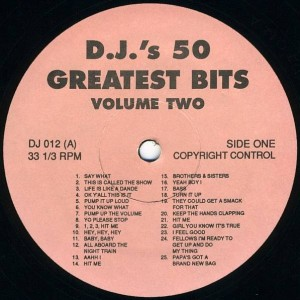 Various - D.J.'s 50 Greatest Bits Volume Two - Not On Label - DJ012