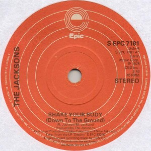The Jacksons - Shake Your Body (Down To The Ground) - Epic - S EPC 7181