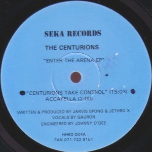 The Centurions - Enter The Arena EP - Seka Records - HHED-004