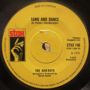 Bar-Kays - Sang And Dance / I Thank You - Stax - STAX 146