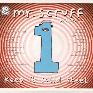 Mr. Scruff - Keep It Solid Steel - Ninja Tune - ZEN CD84, Ninja Tune - 5021392244129