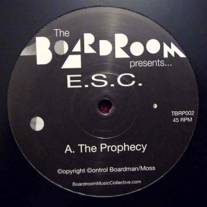 E.S.C. - The Prophecy EP - Boardroom - TBPR002