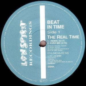Beat In Time - The Real Time / Opera One - Low Spirit Recordings - EFA 04016-02 MS