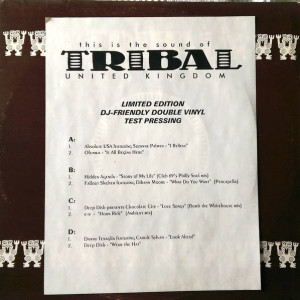 Various - This Is The Sound Of Tribal United Kingdom Volume 2 - TRIBAL United Kingdom - triuklp 010