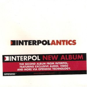 Interpol - Antics - Labels - 7243 8663652 2, Labels - 8663652
