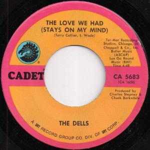 The Dells - Freedom Means / The Love We Had (Stays On My Mind) - Cadet Records - CA 5683