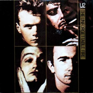 U2 - The Unforgettable Fire - Island Records - 12 IS 220, Island Records - 12 IS220