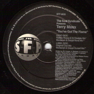 Soul Syndicate Presents Terry Maxx - You've Got The Flame - SFP Records - SFP 9635