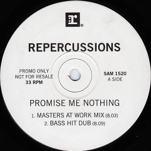 Repercussions - Promise Me Nothing - Reprise Records - SAM 1520