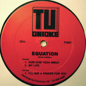 Equation - I'll Say A Prayer For You - Tu Chicks - TU-001