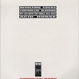 Various - Waxtrax Europe Promotional Sampler Fall '89 - Wax Trax! Europe - WAXPROMO 001
