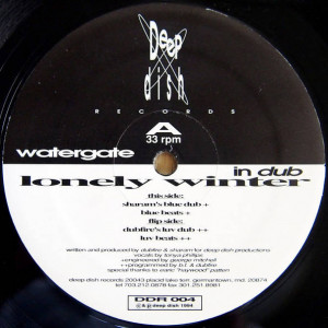Watergate - Lonely Winter - Deep Dish Records - DDR 004