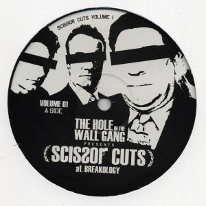 The Hole In The Wall Gang - Scissor Cuts Volume 1 - Not On Label - SCISSOR 01