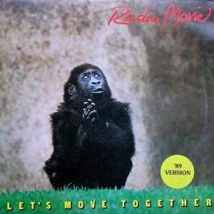 Radio Movie - Let's Move Together ('89 Version) - Banana Records - BAN 19844, Banana Records - BAN19844