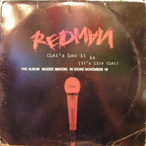 Redman - That's How It Is (It's Like That) - Def Jam Recordings - DEF 110-1
