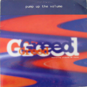 Greed Featuring Ricardo Da Force - Pump Up The Volume - Stress Records - 12 STR 49