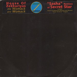 The House Of Zekkariyas Aka Womack & Womack - Secret Star (Sasha Remixes) - Warner Bros. Records - SAM 1293