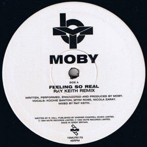 Moby - Feeling So Real - Mute - 10MUTE173