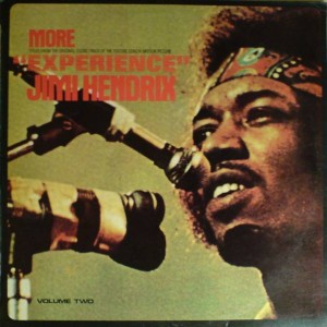 "Jimi Hendrix - More ""Experience"" Jimi Hendrix (Titles From The Original Sound Track Of The Feature Length Motion Picture) (Volume Two) - Ember Records - NR 5061"