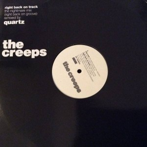 The Creeps - Right Back On Track - Btech - 12 TEK 50