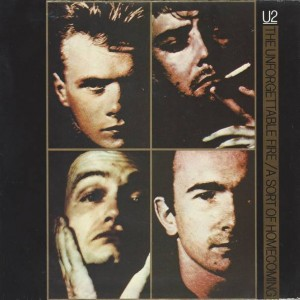 U2 - The Unforgettable Fire / A Sort Of Homecoming - Island Records - IS220, Island Records - IS 220