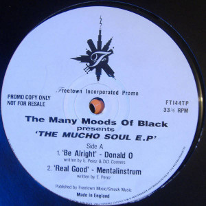 The Many Moods Of Black - The Mucho Soul E.P. - Freetown Inc - FTI44TP