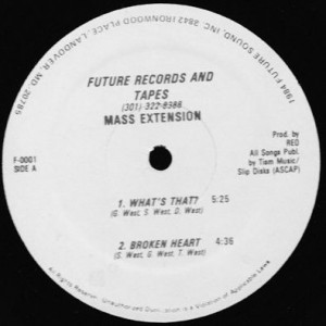 Mass Extension - What's That ? / Broken Heart / Have Some Fun / You - Future Records & Tapes - F-0001