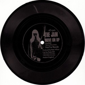 The Jam - Move On Up - Polydor - Paulo 100
