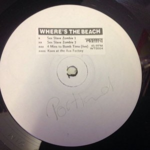 Where's The Beach - Sex Slave Zombie - Mantra Communications - WTB 004