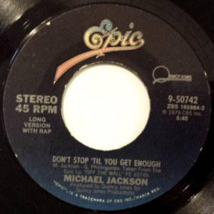 Michael Jackson - Don't Stop 'Til You Get Enough / I Can't Help It - Epic - 9-50742