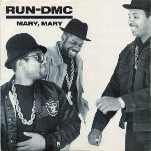 Run-DMC - Mary, Mary - London Records - LONX 191