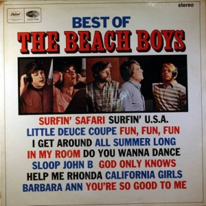 The Beach Boys - Best Of The Beach Boys - Capitol Records - ST 20856