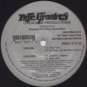Various - Shades Of A New Generation EP - Nite Grooves - KNG-57